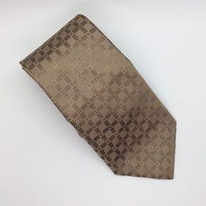 Calvin Klein Tan Men's Necktie